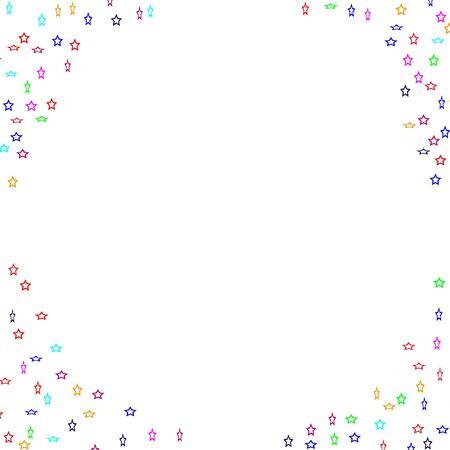 Question marks scattered on white background. Quiz doubt poll survey faq interrogation query background. Stock Illustratie