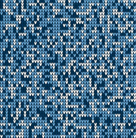VECTOR KNITTED SEAMLESS CAMOUFLAGE PATTERN