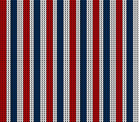 vector seamless knitted stripes pattern