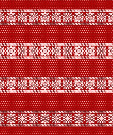 Christmas pattern pixel vector illustration