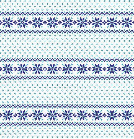 Christmas pattern pixel vector illustration eps