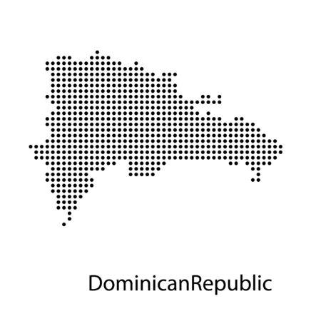 Map of Dominican Republic Иллюстрация