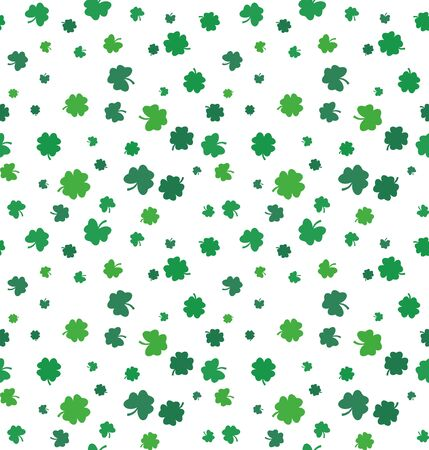Vector illustration St. Patricks Day seamless pattern.