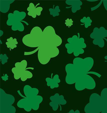 Vector illustration St. Patrick's Day seamless pattern. Reklamní fotografie - 140592408