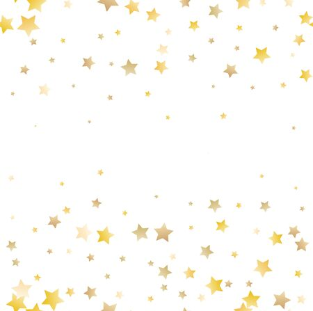 Vector gold glitter wave abstract background, golden sparkles on white background. Reklamní fotografie - 140592467