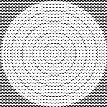 halftones background.Distress Dirty Damaged Spotted Circles Overlay Dots Texture .