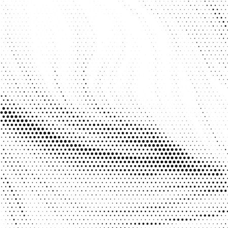 Grunge halftone dots vector texture background . eps