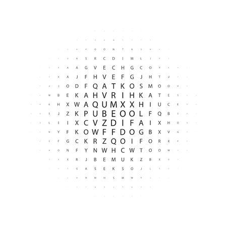 Grunge halftone dots vector texture background . eps Reklamní fotografie - 140470881