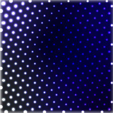 Pop art Halftone Seamless background. Halftone pink dots on blue background.
