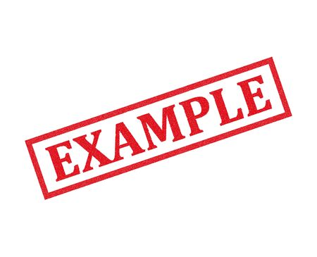 Example grunge rubber stamp, vector illustration Vettoriali