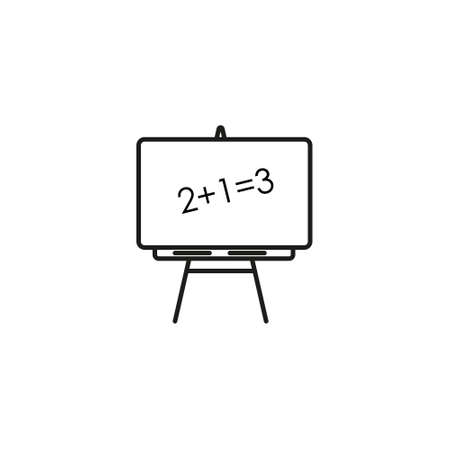 Empty white board with magnets and whiteboard markers. Whiteboard animation template. eps  イラスト・ベクター素材
