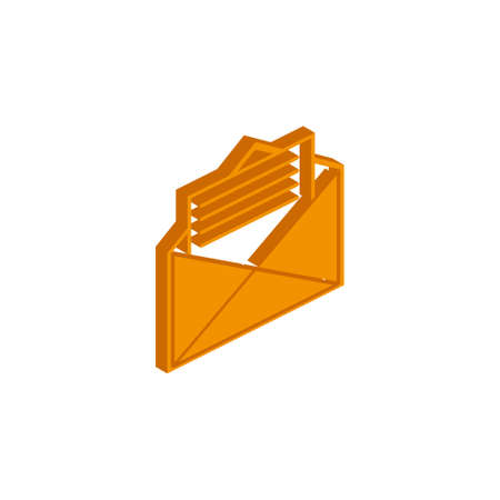 Important icon, vector symbol in flat, outline and isometric style eps