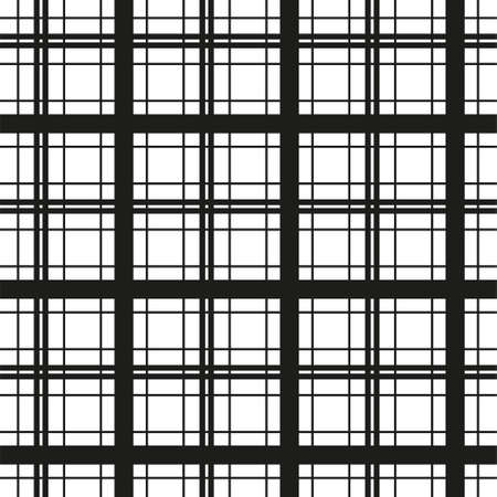Tartan scotland seamless plaid pattern vector. Retro background fabric