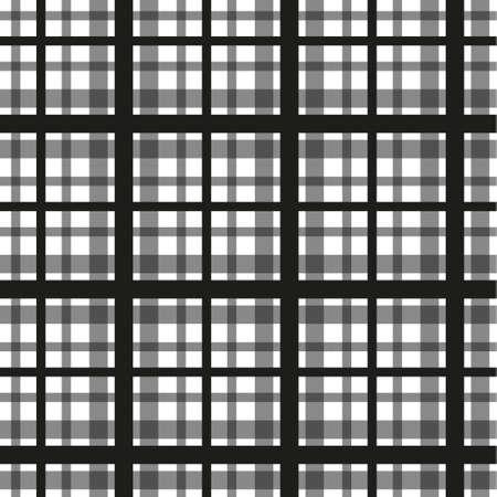 Tartan scotland seamless plaid pattern vector. Retro background fabric.