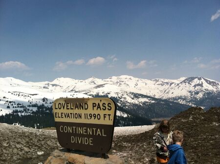 Loveland Pass Rocky Mountains