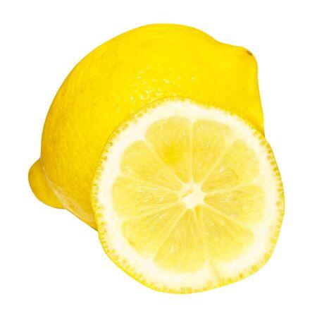 レモンとその半分