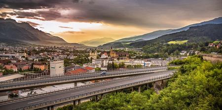 innsbruck: Sunrise in Innsbruck