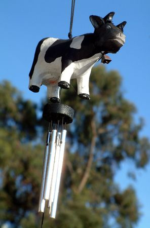 Cow Chime Stock Photo