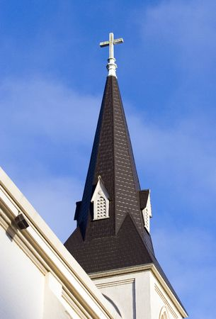 Steeple Stock Photo