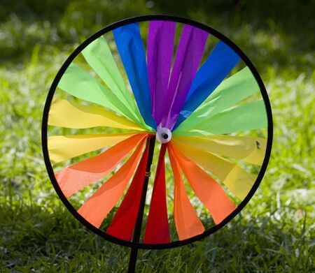 Color Wheel Stock Photo