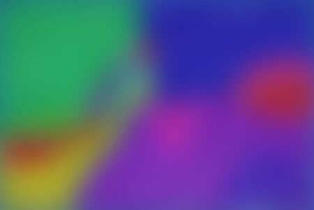 An abstract depiction of blended colour areas