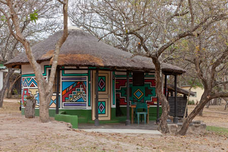 Lodge on a campsite  near Kruger park South Africa photo