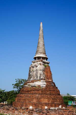 ayuthaya: Stupa in ayuthaya tailand