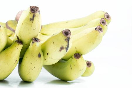 bananas isolated on white background photo