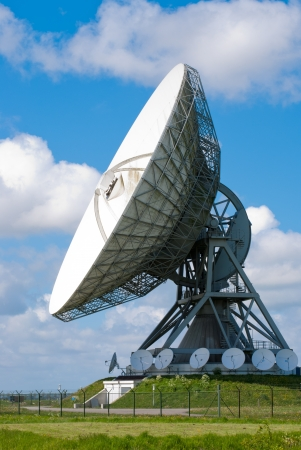Picture  of a large satellite dish for transatlantic communication Stock Photo - 13631734