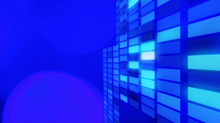 title: Title abstract lights background