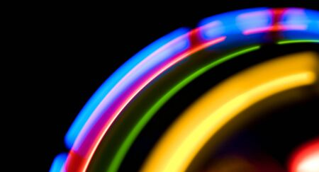 colorful lights: Motion abstract colorful lights background Stock Photo