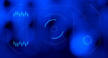hologram: Hologram futuristic HUD abstract backgrounds