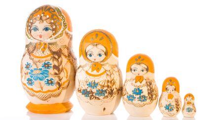 souvenir traditional: Traditional Matryoshka souvenir russian dolls