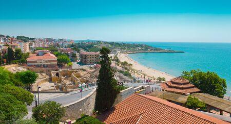 roman amphitheater: Tarragona, Roman Amphitheater, Costa Daurada, Catalonia