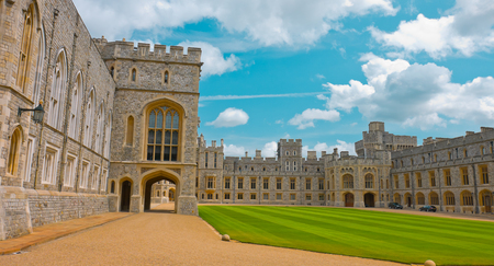 historic: Old historic english castle Windsor
