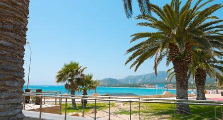 dorada: Costa Dorada, Summer in Spain, Europe Stock Photo