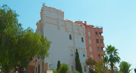 typical: Typical spanish apartment building, Tarragona city, Spain Editorial