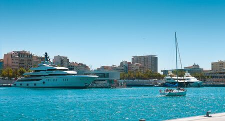 barcelona: Barcelona luxury yacht and sailboat