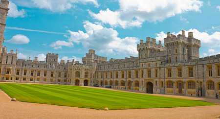 residence: Windsor Castle, official residence of The Queen
