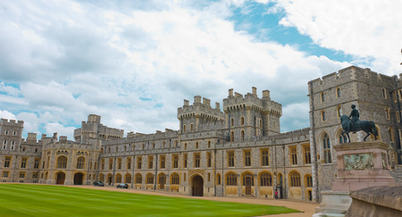 Royal palace, Windsor Castle UK Editoriali
