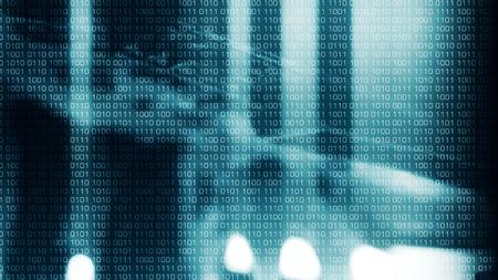 新しい技術のサイバー犯罪の背景 写真素材