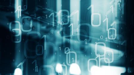 新しい通信ネットワーク システムのハッキング 写真素材