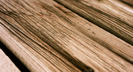 surface aged: Old wooden plank surface, aged wood texture macro Stock Photo
