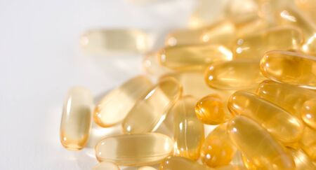 cod liver: Pure cod liver oil pills