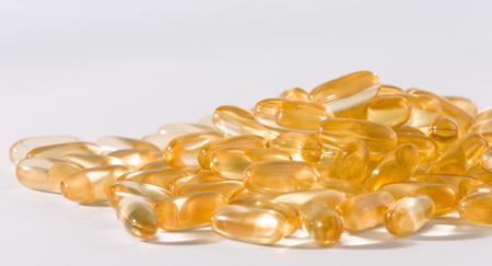 cod oil: Cod fish liver oil tablets