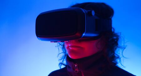Virtual Reality cyberspace