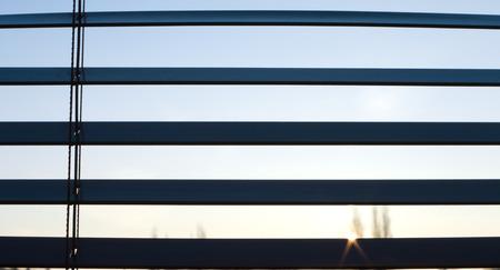 blinds: Sunrise window blinds