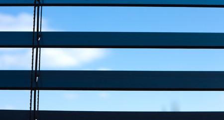 blinds: Wooden Venetian blinds