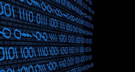 p2p: Cyber crime conception Stock Photo