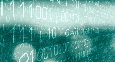Hacking cyberspace idea Archivio Fotografico